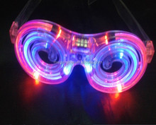 2016 LED Mosquito shape glasses with tube for party
