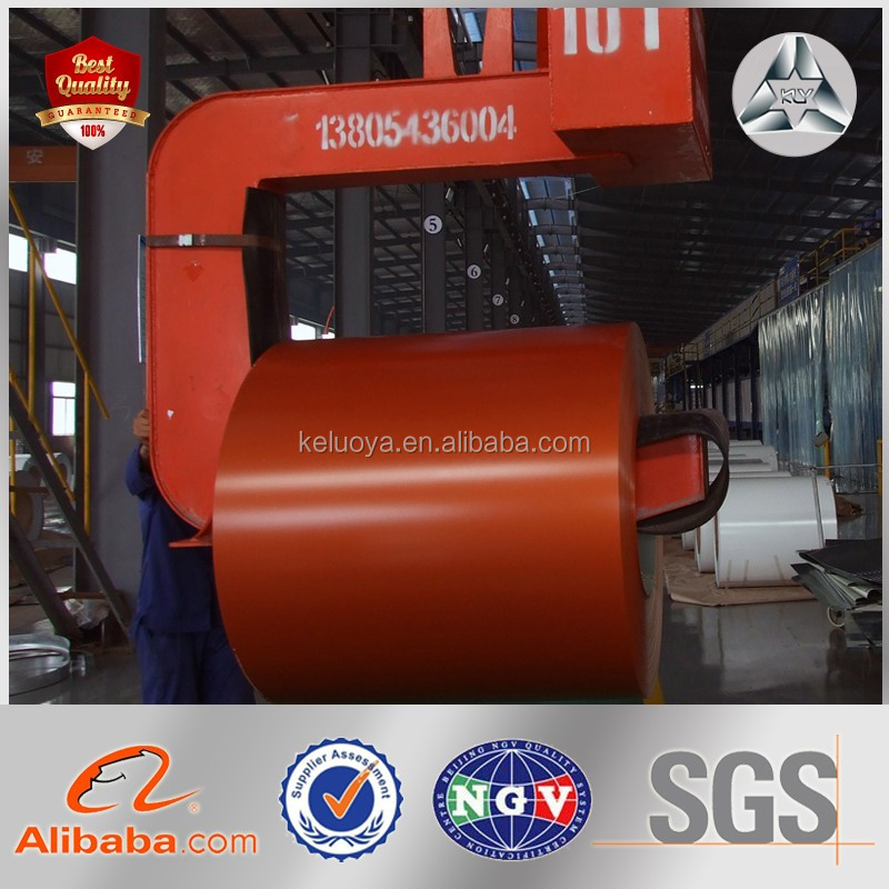 PPGI GL PPGL CRC HRC cold rolled steel coil Soft/Semi-hard/Hard color coated sheet in coil