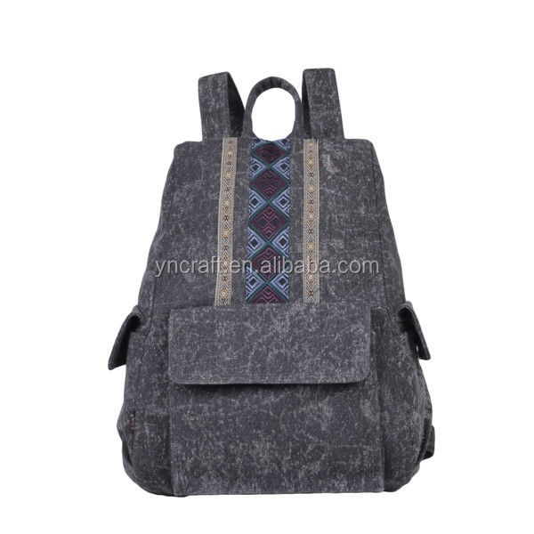 Quality primacy exotic plain backpacks to embroidery