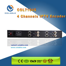 1080P full hd 4 channel hd sdi to ip ncoder supports HDCP