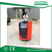 With Fixed Platform Factory price Full Electric Pallet Truck