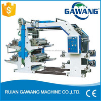Bset Price 4 Color Flexo Printing Machine For Packing