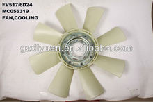 truck fan for mitsubishi FV517/6D24