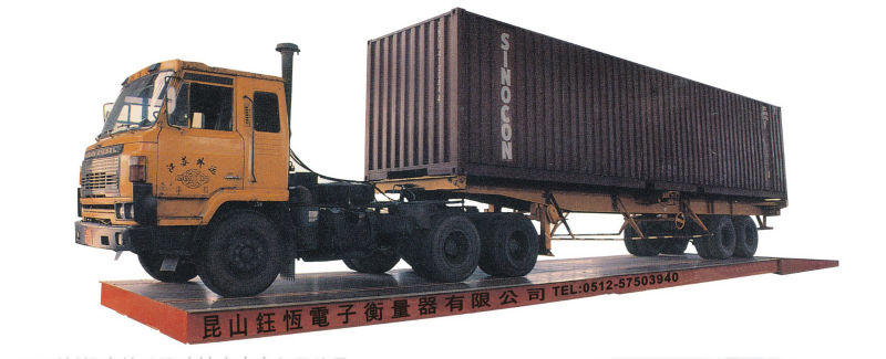 1/10 scale 4x4 rc weighing truck scale for industrial