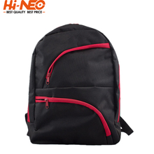 China Promotional 600D Polyester School Backpack With Two Pockets