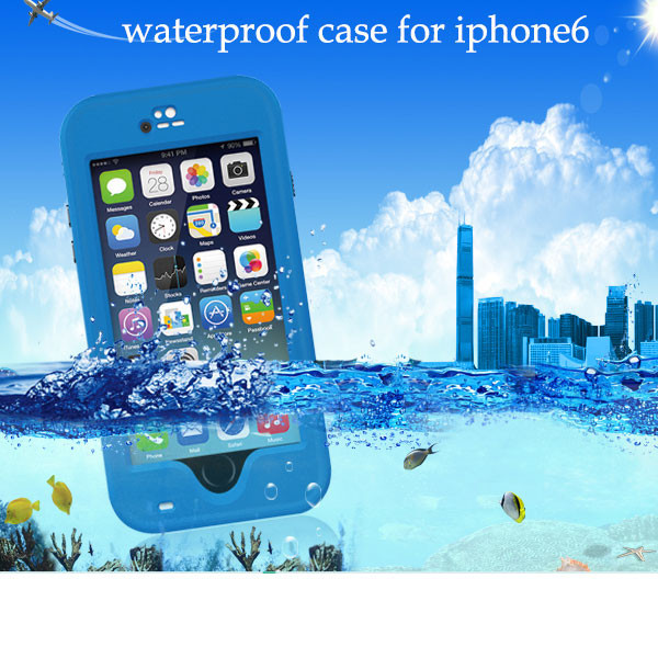 Plastic case cover for iPhone 6,silicon phone case for iPhone 6 waterproof case
