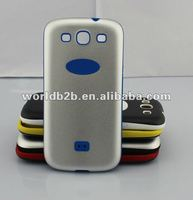 Hard Aluminum Metal + Silicone Cover Case for Samsung Galaxy S3 i9300