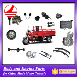 Chongqing Factory Cargo and Passenger Adult Motor Spare Tricycle Parts