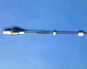 Spark ignition flame sensor electrodes for wall-mounted gas boiler