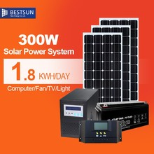 Solar Panels 300w monocrystalline, with solarmicro inverter, for solar module system