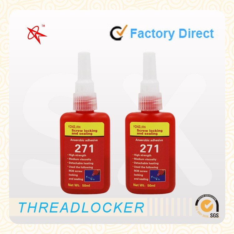 Wholesale Threadlocker Screw Glue General Purpose Anaerobic Adhesive 271