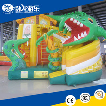 2017 high quality inflatabe bouncer house slide type inflatable slide sports game on sale !!!