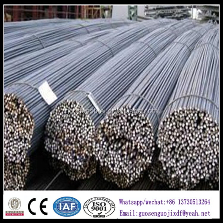 10MM steel rebar, deformed steel bar, iron bar/building rebar