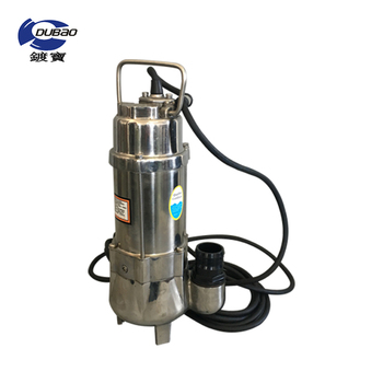 Industrial chemical high flow rate stainless steel sewage centrifugal submersible pump with cheap price