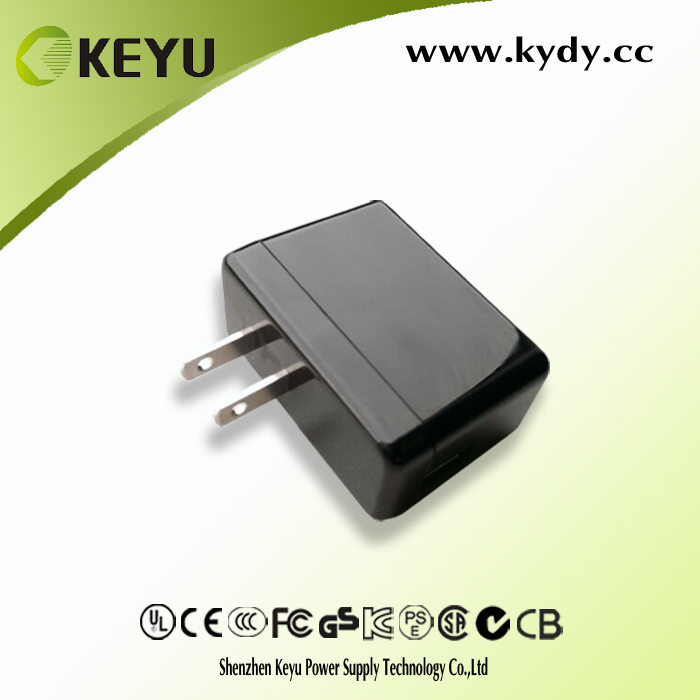 mini usb black and white 5V 2A dc power adapter for mobile phone and tablet pc with CE CB CCC ROHS