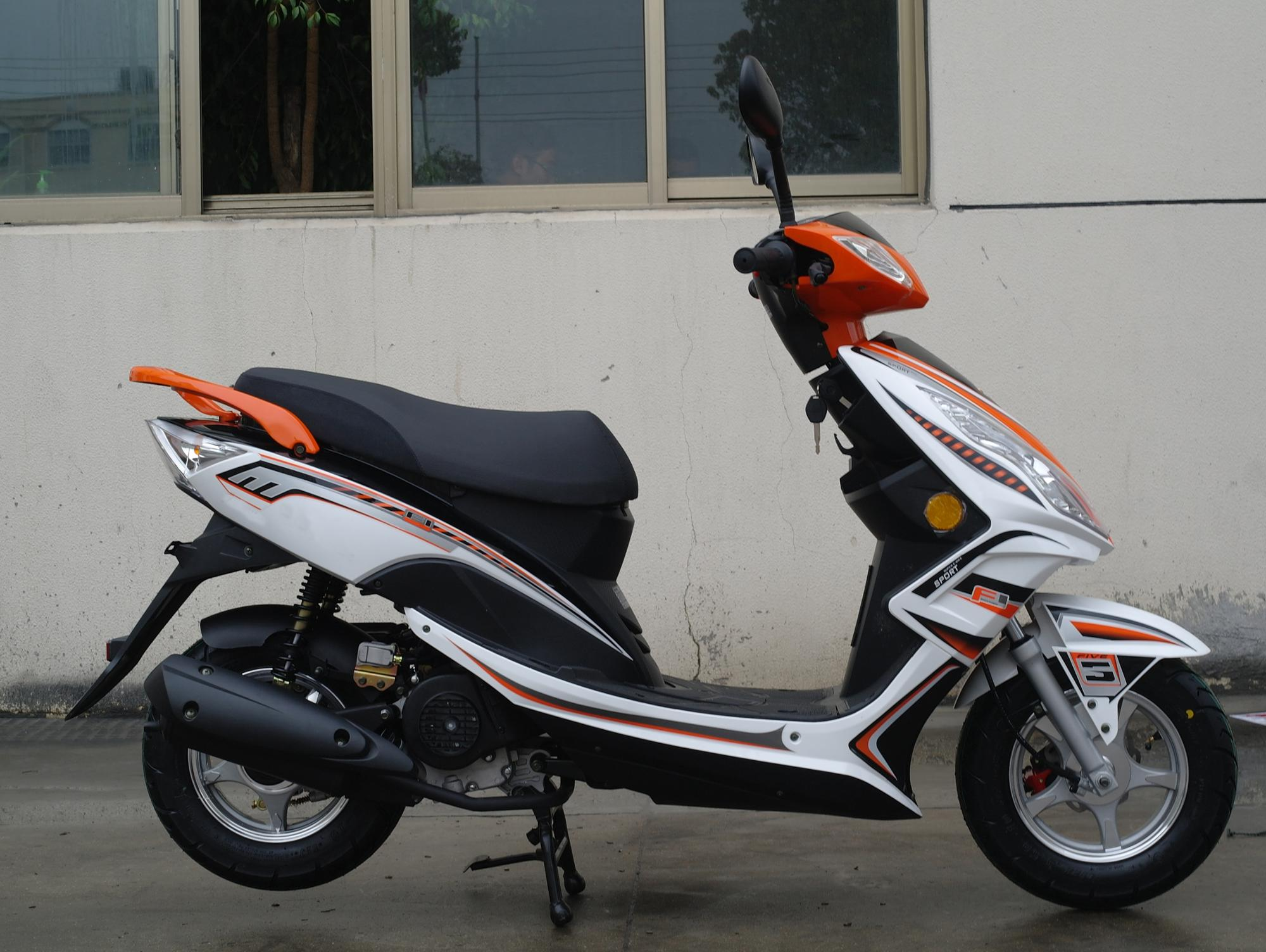 50CC scooter cheap gas EFI