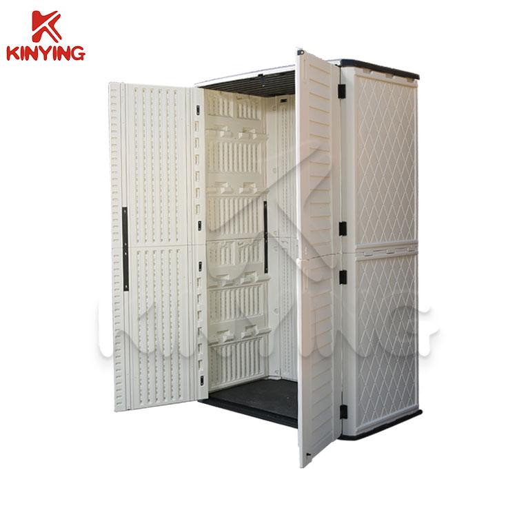 Kinying Popular Plastic Outdoor Storage Cabinet Buy Outdoor