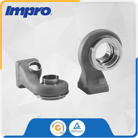 Stainless Steel Scroll Shell precision investment castings for Turbocharger of Passenger Car