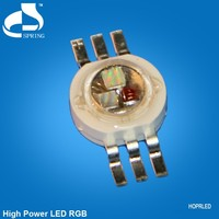 Epistar chip 3 watts rgb led