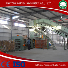 Automatic corrugated paper baler machine