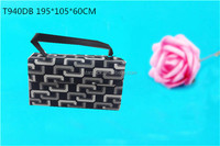 handmade plastic frame cover with leather velvet insert jewelry double bangle bag