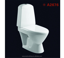 High quality UF cover two-piece toilet for hotel using