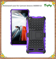 Wholesale Mobile Phone Case for Lenovo A6000 K3 plus with kickstand