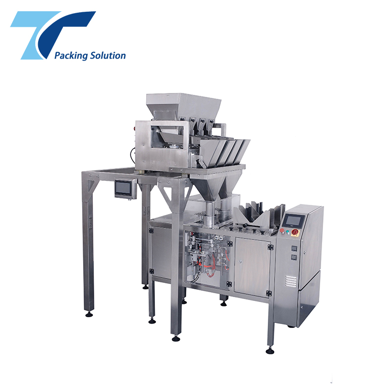 Automatic Ziplock Bag Small Scale Packaging Machine for Sugar