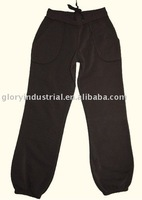 long johns / black casual pants for womens
