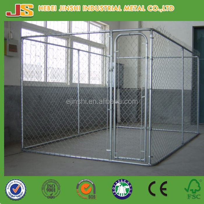 Double wholesale dog kennel