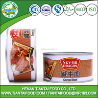 Salt preservation corned beef for picnic HACCP ISO