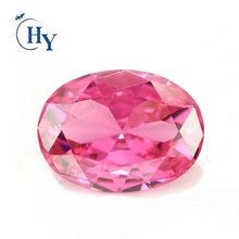 12*16mm Oval shape pink Jewelry Setting Gemstone