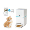 Wifi enabled dog food dispenser automatic pet feeder