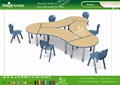 Kaiqi KQ60210 school furniture Combinable student tables
