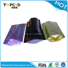 Customize printing and layer standing up aluminum foil bag for widely using in packing powder carbon