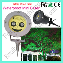 Mini Waterproof Red Green Laser Light Wedding Garden Tree Wall Decoration Outdoor for Holiday Lighting