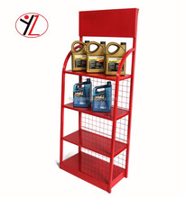 Car motor oil/lubricanting oil/paint oil display stand with reasonable price in alibaba online retail store