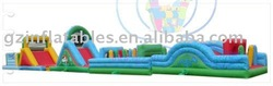 2011 {Qi Ling} giant durable inflatable obstacles