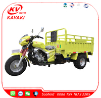 KAVAKI 200CC Engine Gasoline Motor Tricycle Three Wheel Motorcycle