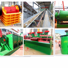 300 tons/d small scale gold mining equipment for sale