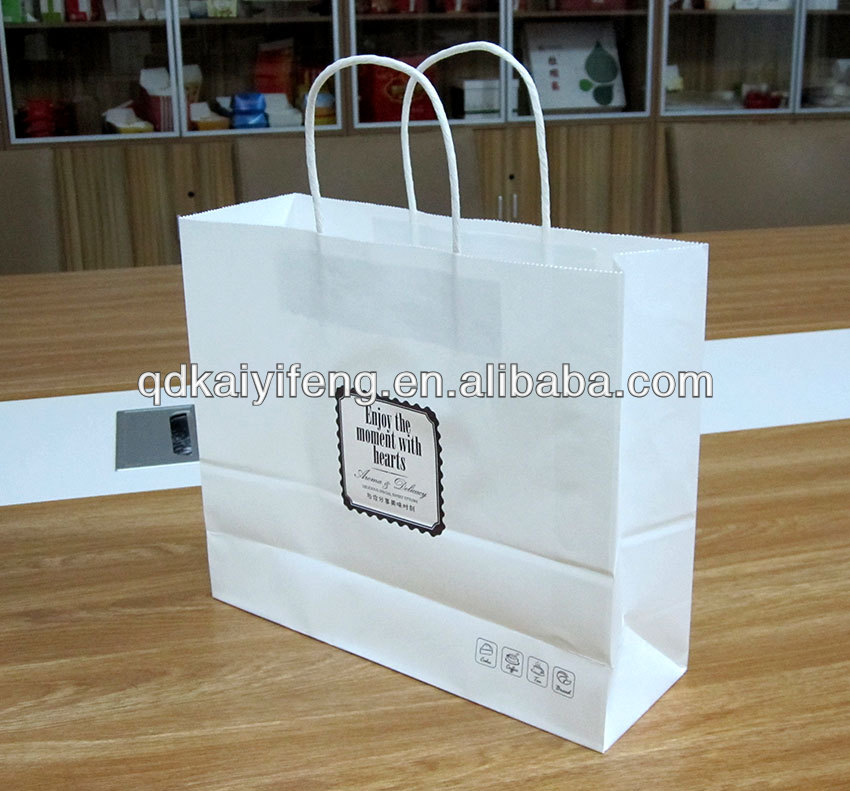 High end - shopping bag suit for apparel packaging bags