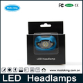 MT-801 High Quality Zoom LED Headlamp Plastic Design Waterproof led headlamp