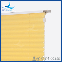 2015 Latest design iceland cordless pleated blinds