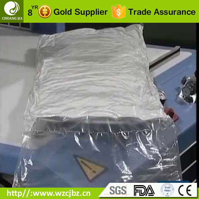 plastic material 7 layer multi layer coextrusion nylon lldpe vacuum packing clothing bags