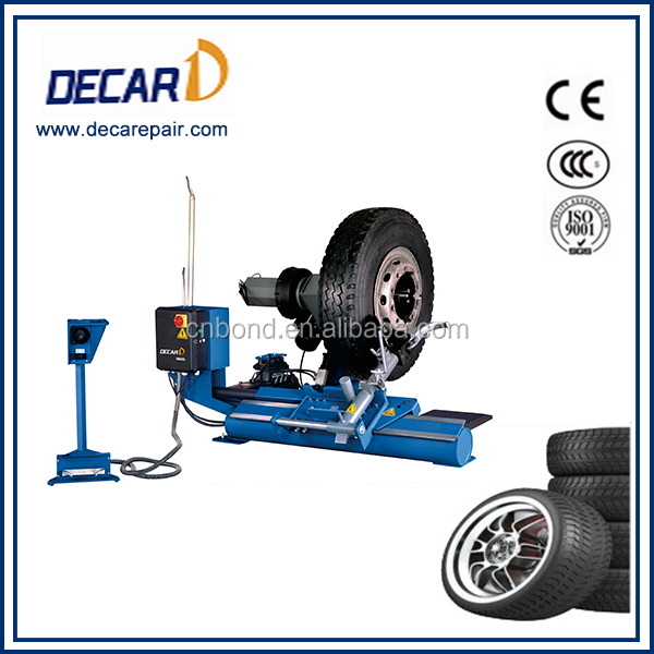 Truck repair used tyre fitting machine for garage