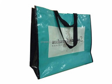 Wholesale cheap price recycled pp promotion foldable laminated non woven fabric shopping bag