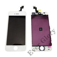 Alibaba Express China Supplier LCD Display Touch Screen Digitizer For Apple iphone 5S White