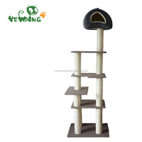 The Multi-level classy cats furniture tree of cats furniture