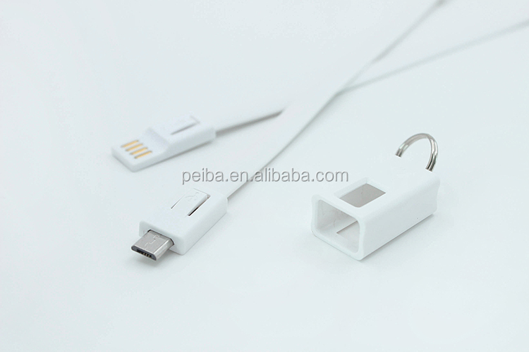 2 in 1 Magnetic Cable,Flat Noodle Micro USB Magnectic Cable Data Charge Cable Magnet