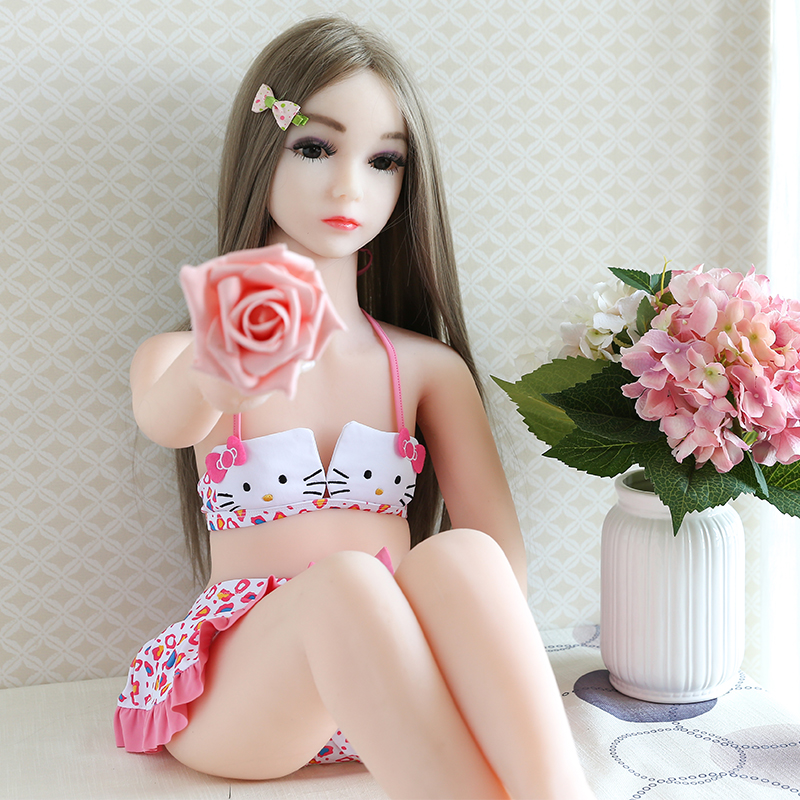 High quality sex products Full body Young Girl 18 sex doll flat chest silicone sex doll for men